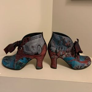 John Fluevog Daily Miracles Stunner Ankle Booties